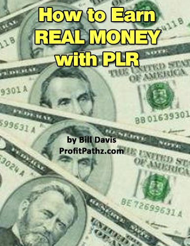 How to Earn Real Money with PLR (English Edition) eBook: Bill ...