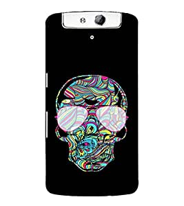 EagleHawk Designer 3D Printed Back Cover for Oppo N1 - D557 :: Perfect Fit Designer Hard Case