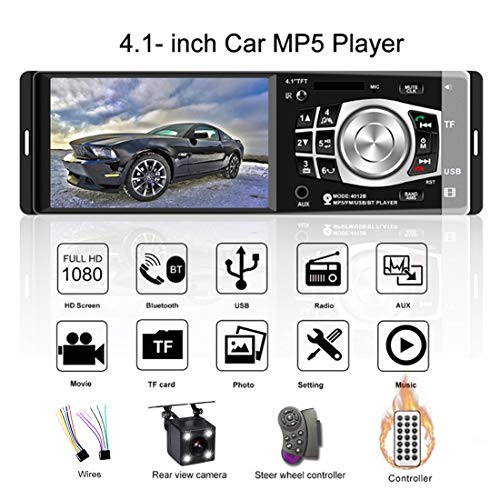 4.1 Inch Bluetooth Car Radio Aut...