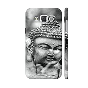Colorpur Buddha Asia Yoga Zen Black And White Designer Mobile Phone Case Back Cover For Samsung Galaxy J5 | Artist: WonderfulDreamPicture