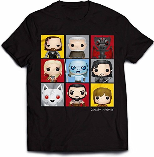 Game Of Thrones - Character Pop Art - Official Mens T Shirt