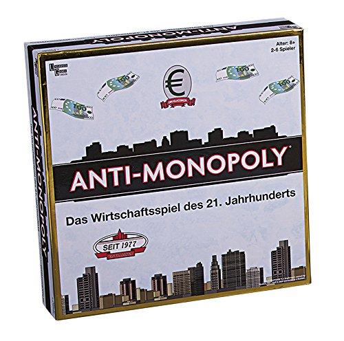 University Games 8509 - Anti-Monopoli, Gioco da tavolo [lingua tedesca]
