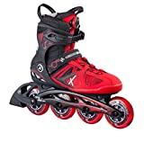 K2 Herren Inline Skates VO2 90 Boa M - Schwarz-Rot - 30A0010.1.1