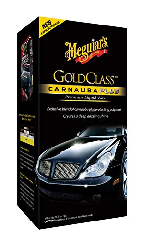 Meguiar's G7016EU Gold Class Liquid Wax Autowachs, 473ml