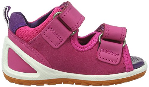 ECCO Lite Infants Sandal, Scarpe Primi Passi Bimba Rosa (50290beetroot/beetroot/imperial Purple)