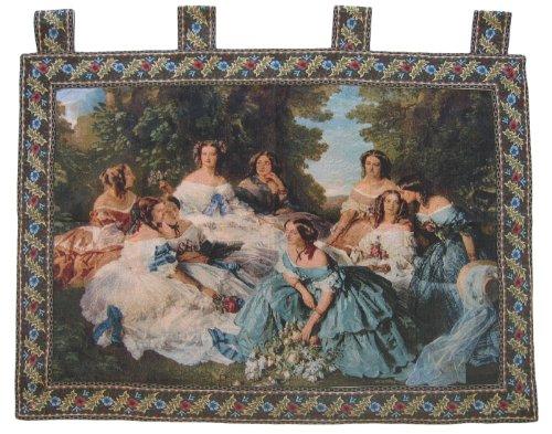 DaDa Bedding Dada Betten wh-11630Classic French Rokoko gewebte, zum Aufhängen 36von 127cm