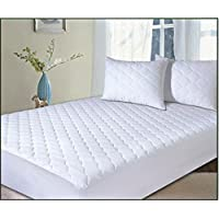 Premier Linens Polycotton Quilted ,Anti Allergy, Extra Deep(33cm/13 inch) Mattress Protector Double (135cmx190cm)