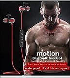 Bluetooth Kopfhörer ARINO 4.1 Wireless Magnetisches Sport Headset NFC In-Ear-Kopfhörer...
