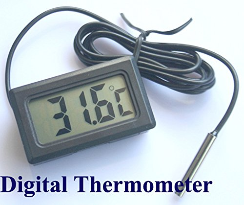 Neu LCD Digital Anzeige Aquarium Thermometer Wassertests