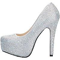 SEXYHER Sparkling Bella 5.5 pollici scarpe col tacco alto della