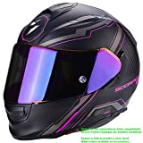 Scorpion Helm Motorrad exo-510Air Sync, matt black/pink, S
