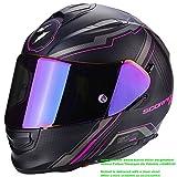 Scorpion Helm Motorrad exo-510Air Sync, matt black/pink, S