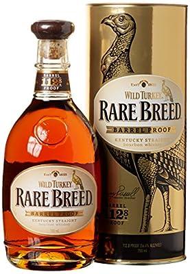 Wild Turkey Rare Breed Barrel Proof mit Geschenkverpackung Whisky (1 x 0.7 l)