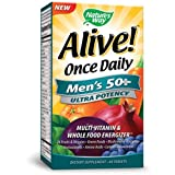 Best Organic Multi Vitamins - Nature's Way Alive Once Daily Men's 50+ Multi Review