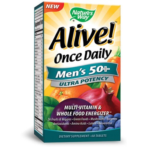 natures-way-alive-once-daily-mens-50-multi-ultra-potency-tablets-60-count