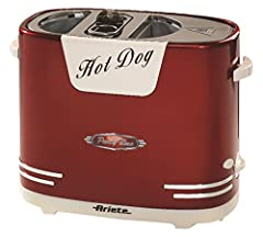 Idea Regalo - Ariete 186.0 Hot Dog, Plastica, Rosso