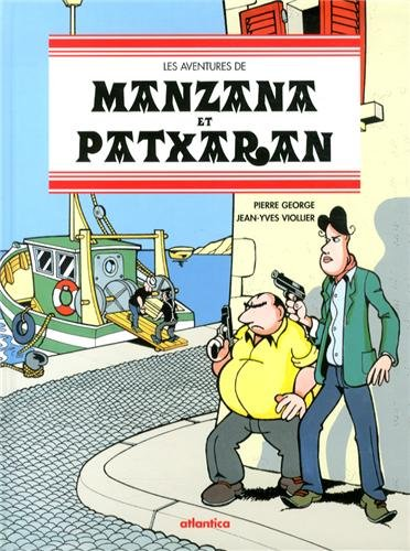 Les Aventures de Manzana et Patxaran Rugby, Océan et Frasques Basques par George/Viollier