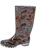 Gevavi Boots CHIC05380 Chic Damen Stiefel PVC, 38, Braun
