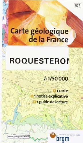 Carte géologique : Roquesteron par Cartes BRGM