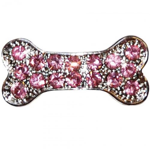 Artikelbild: Haarspange Strassknochen rosa Pink Lilly 3cm von Vivog