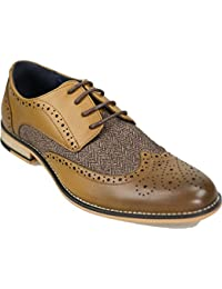 Cavani Rome Formal Shoe 8 Tan
