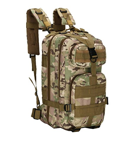 Yy.f Tattiche Militari Per Attaccare Borse Zaini Escursioni All'aperto Sacchetti Di Alpinismo Campeggio Trekking Caccia Campeggio. Multicolore C
