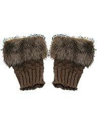 Handschuhe Fingerlos warm Damen Mode Winter