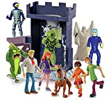 Scooby Doo The Monsters of Terror Tower Goo Playset with 10 Mystery Crew Action Figures