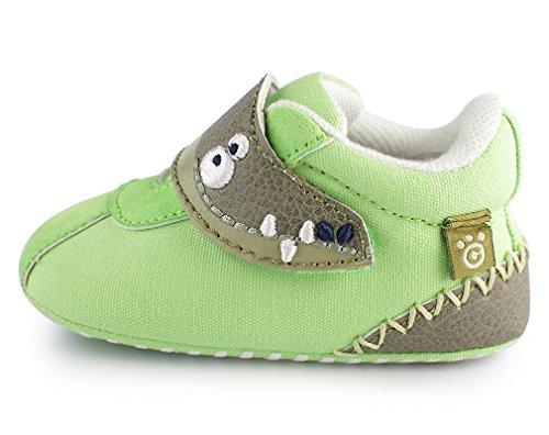 cartoonimals Babyschuhe Mädchen Jungen Neugeborene Weiche Rutschsicheren Baby Kinder Schuhe Croco Lime #19