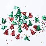 Delicacydex Durable Throw Konfetti Weihnachtsbaum Konfetti Für Hochzeit Multicolor Dot Konfetti Home Decor Party Zubehör - Multicolor