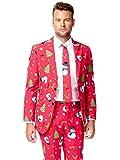 Opposuits OSUI-0020-EU46 - Christmaster - Weihnachts Anzug, Party Kostüm, Größe 46, mehrfarbig