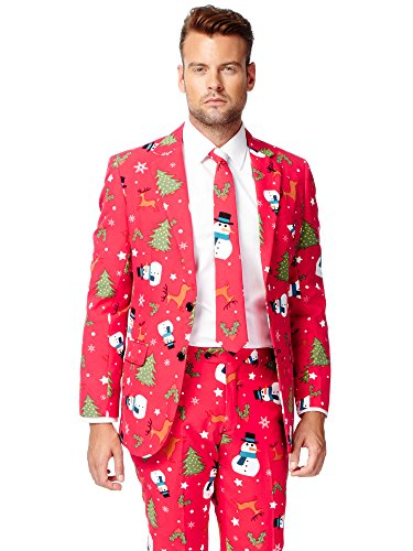 Opposuits OSUI-0020-EU50 - Christmaster - Weihnachts Anzug, Party -