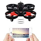 Mini RC Quadcopter Drone with WiFi FPV Live Camera,WiFi FPV Remote Control Drone with HD Wide Angle Lens Camera and VR Headset Compatibility