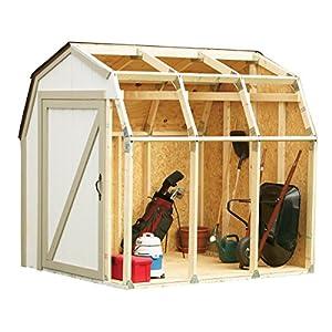 51tv0Y%2BQmiL. SS300  - Hopkins 90190 2x4basics Shed Kit, Barn Style Roof