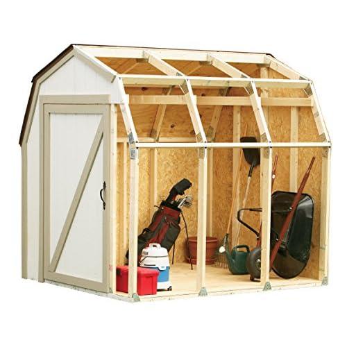 51tv0Y%2BQmiL. SS500  - Hopkins 90190 2x4basics Shed Kit, Barn Style Roof