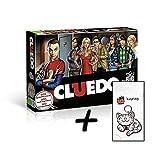 Big Bang Theory Cluedo The Brettspiel + Zusatzartikel Tasse Schlüsselanhänger (+ Kitty Schlüsselanhänger)