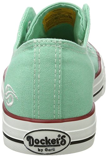Dockers by Gerli Damen 36ur202-710880 Sneaker Grün (Mint)