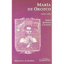 María de Orozco y Luján (1635-1709)