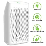 Hysure Portable Air Dehumidifiers Mini Electric Dehumidifier Air Dryer 700ml Water Tank Moisture