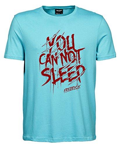 makato Herren T-Shirt Luxury Tee Freddy Aqua