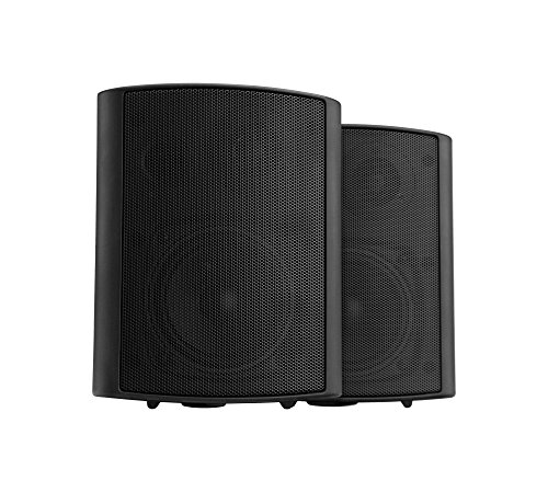 Dos altavoces de pared Pronomic USP-430 BK ELA/HiFi de 120 vatios en...