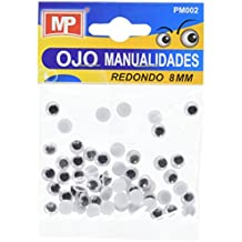 MP PM002 - Set de ojos móviles redondos, ...