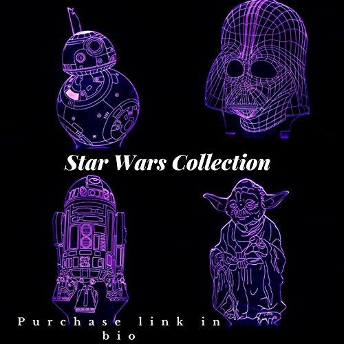 Lampe LED illusion 3D Star Wars
