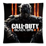 8888CASE Call of Duty Black Ops III Pillow Cases Cover Cushion Case Copricuscini e federe (50cmx50cm)