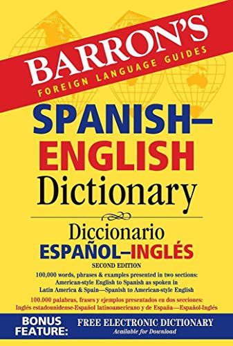 Barron's Spanish-English Dictionary: Diccionario Espanol-Ingles (Barron's Bilingual Dictionaries) por Ursula Martini