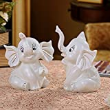 Lotefong Home Furnishing Ornaments Ornaments Wedding Gifts, Ceramic Handicraft Lovers Like Gold Ornaments