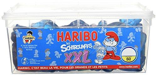 Bonbon Gélifié les Schtroumpfs XXL x 60 Pièces 1320g,HARIBO,