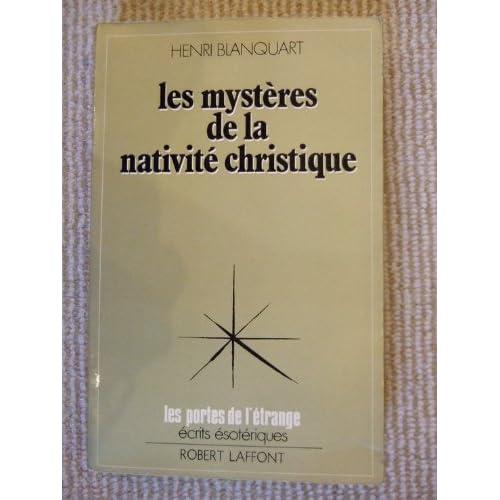 Mystères de la nativité christique