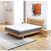 IZTOSS Luxe Surmatelas 140 x 190 mémoire de Forme - Housse Amovible et Lavable - 5 cm Epaisseur -livré en 2 à 4 Jours