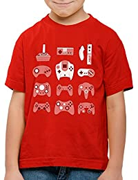 style3 Manette de Jeu T-Shirt pour Enfants Game Pad contrôleur Vidéo Console Jeux